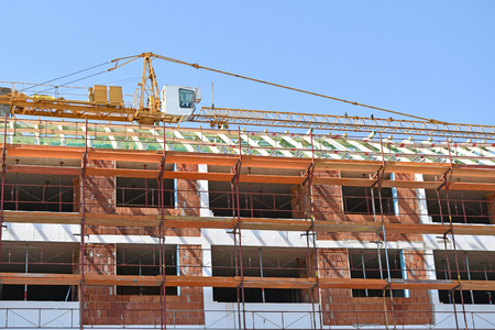 new addition: Construction of a new apartment building