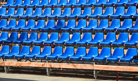 Bleachers of a stadium