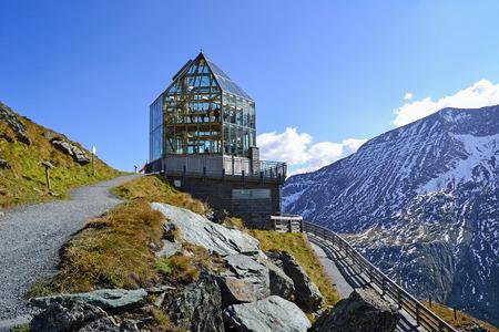 Observatory on the peak, Austria