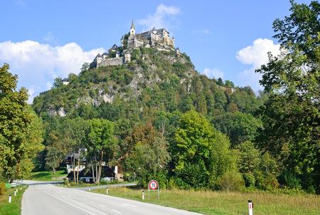 View of Landskron, Austria