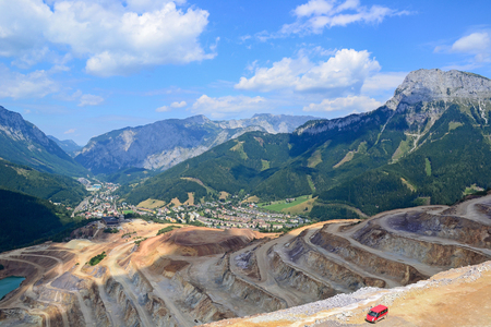 Quarry next to Kainach, Austria