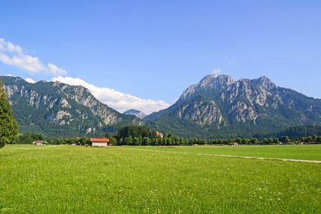 View of mountains in Germany