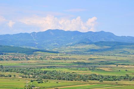 Montagnes en Transylvanie, Roumanie