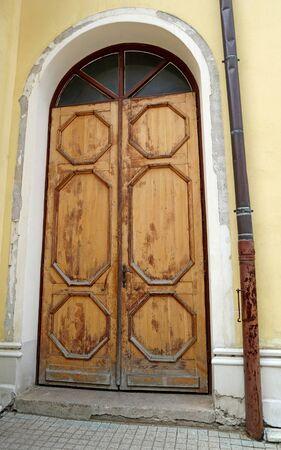 Back door of the theather building