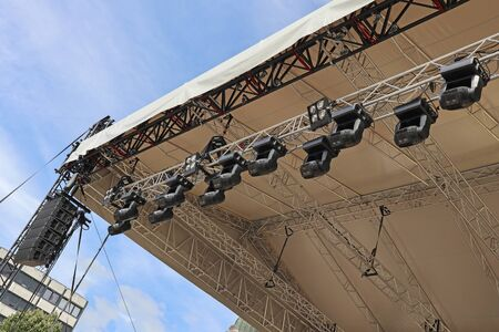 Spotlights of the concert stage