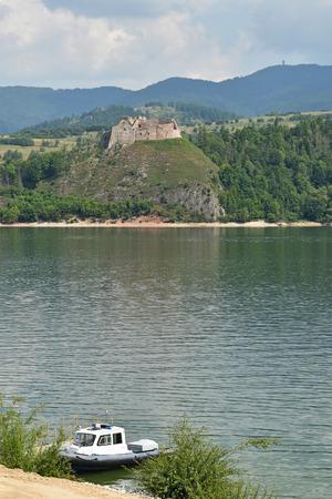 View of zamec dunajec in poland