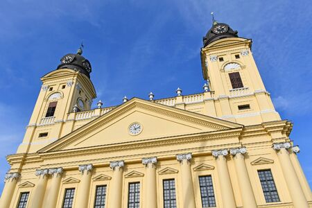 Great church in Debrecen city, Hungary