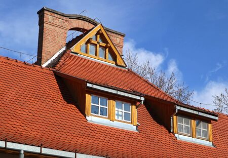 Roof of the clinic building