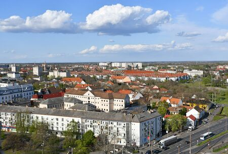 View of Debrecen city, Hungary Banco de Imagens