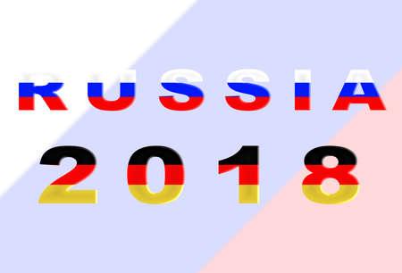 futbol: Russia 2018 Conceptual Soccer (Football  Futbol) Tournament Background