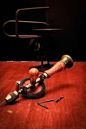 driven: American Made Woodworker Gear Driven Hand Drill