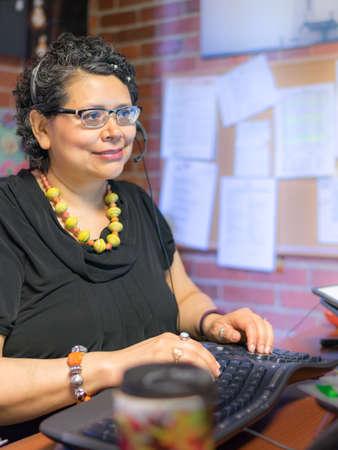 energized: Gen X Female Working In Office