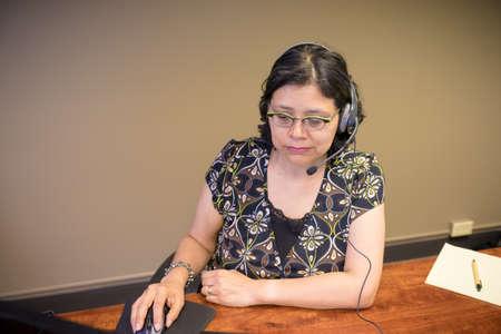 Career-minded professional woman Archivio Fotografico