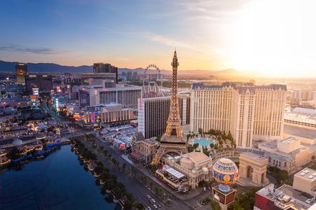 Las Vegas Skyline from Day to Night