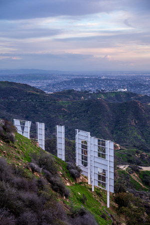 Hollywood Sign Editorial