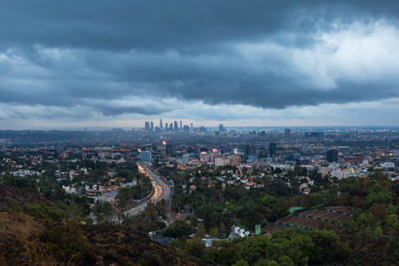 Los Angeles and Hollywood Dark Clouds