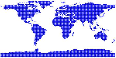 Weltkarte Stock Vector - 12203786