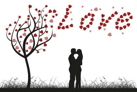 rotting: Love tree Illustration