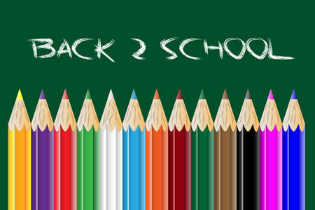 Back to school Stock Vector - 12203796