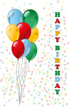 Happy Birthday Stock Vector - 12307472