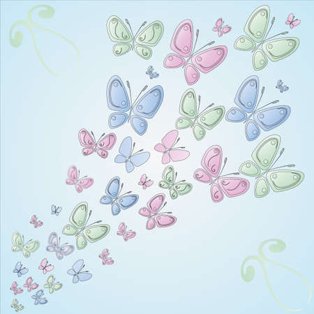 muster: Butterfly