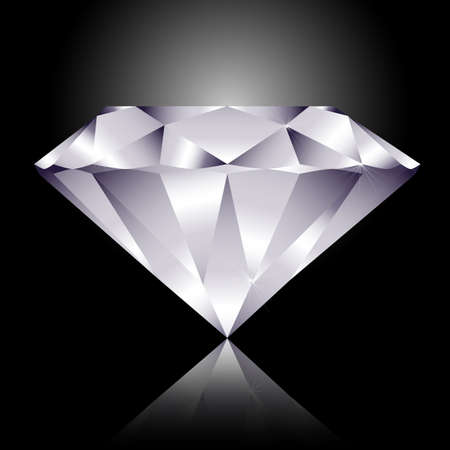 kunst: Diamant Illustration