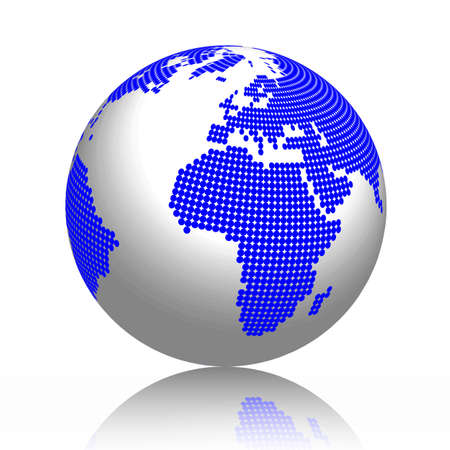 Globus, Erde, Weltkugel Stock Vector - 13127770
