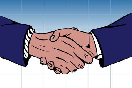 schwarz: Handshake