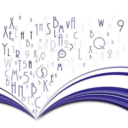 abbildung: Buch abstrakt