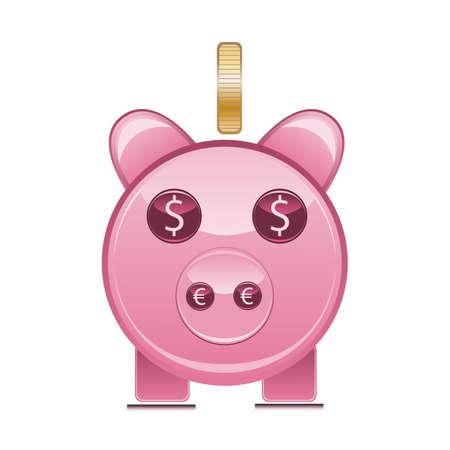 geld: Piggy bank Illustration
