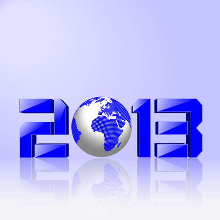 hintergrund: Frohes Neues Jahr