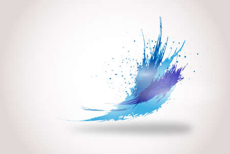 abstract splatter background
