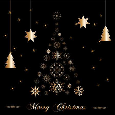 natale: beautiful christmas tree