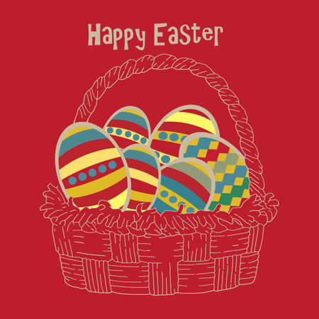 Happy Easter Stock Vector - 17107877