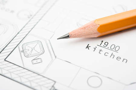 kitchen design: Development of technical documentation for building