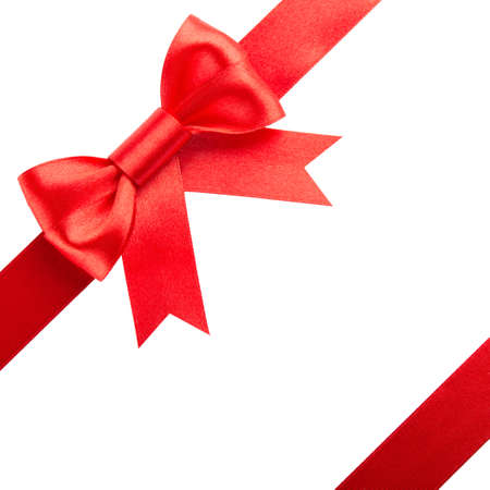 Red bow and ribbons Stock Photo - 15991675