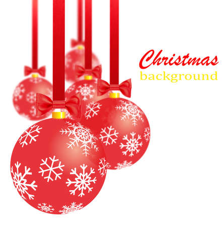 stock photo transparent red christmas decorations bows and ribbons - Red Christmas Decorations
