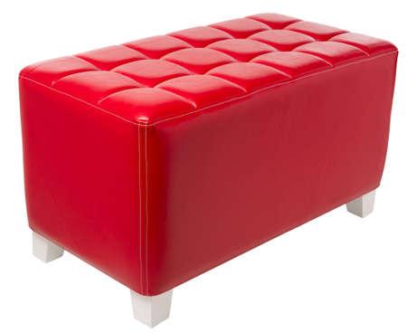 upholster: upholstered furniture isolated on white Stock Photo
