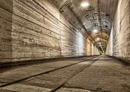Underground bunker from cold war. Ukraine, Sevastopol photo
