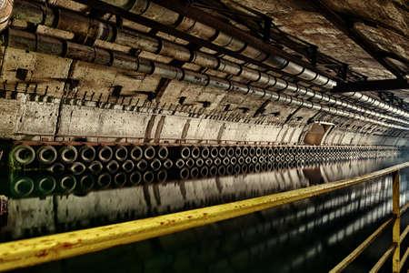 ammunition: Underground bunker from cold war. Ukraine, Sevastopol