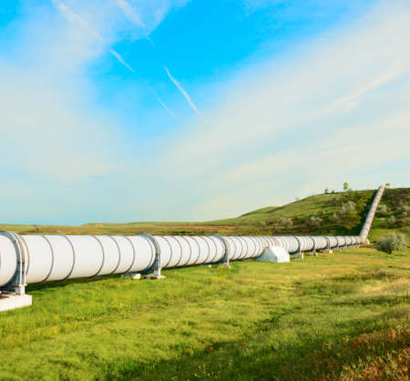 gas pipeline: high pressure pipeline for gas transporting .