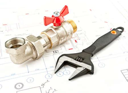 chiave e l'installazione a un progetto di sfondo