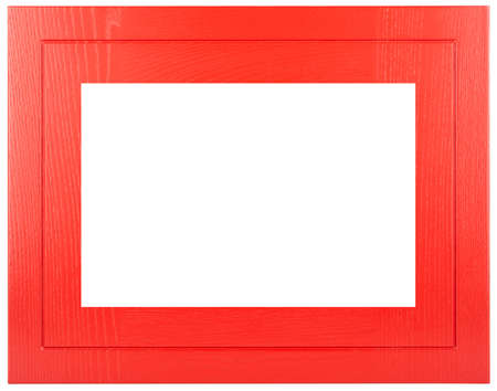 photo frame isolated on white background with clipping path photo