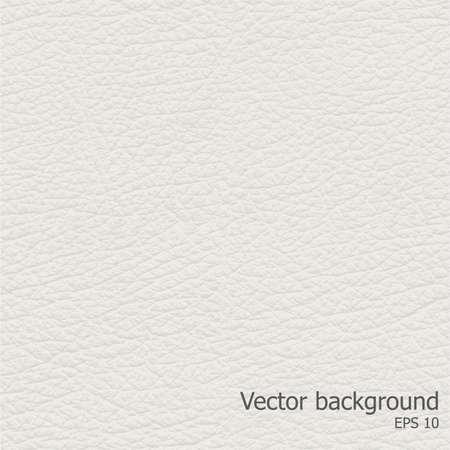 Perfecta textura de cuero ligero, detalised Vector de fondo