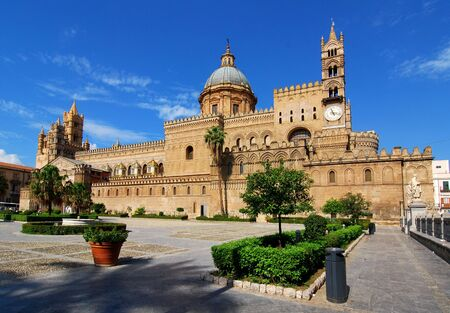 Kathedraal van het Palermo, Sicilië  Stockfoto