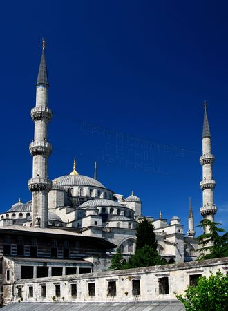 Istanbul Blue Mosque Imagens