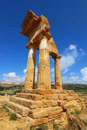 Dioscuri Temple, Agrigento, Sicily