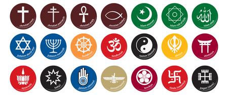 Symboles de la religion