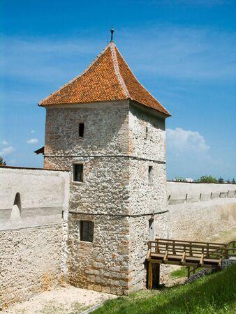 xv century: Brasov fortification tower, Transylvania, Romania, dating from XV century