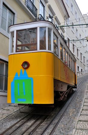 These distinctive yellow trams are one of the tourist icons of modern Lisbon
